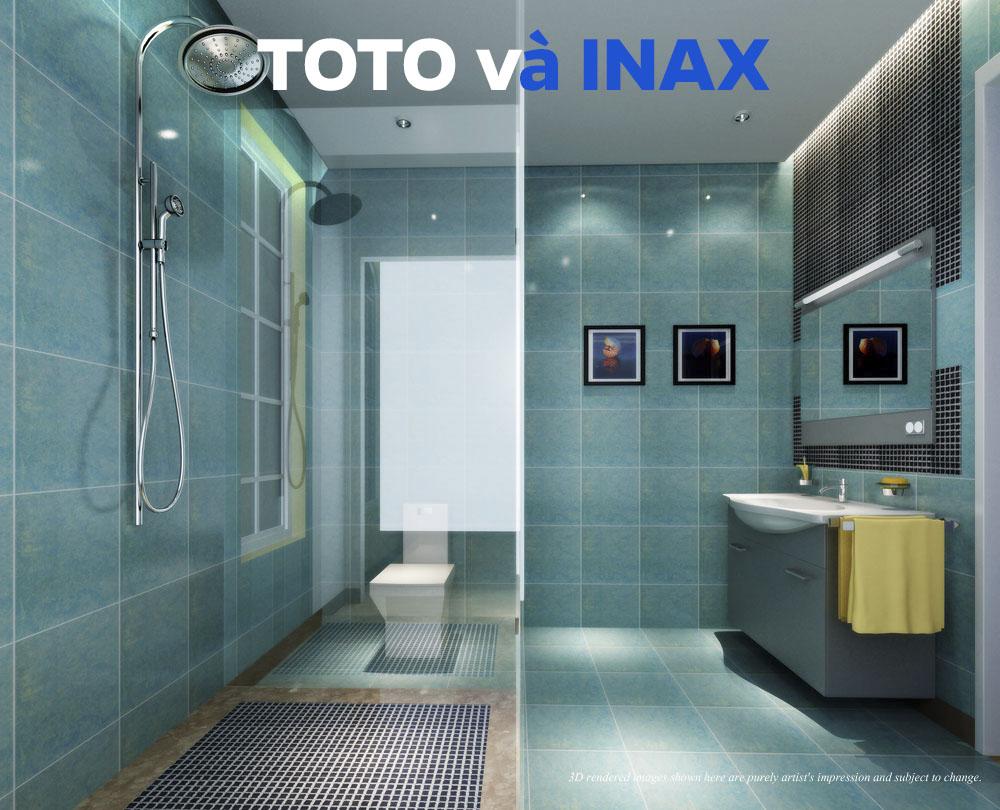 Đánh giá bồn cầu Inax và Toto