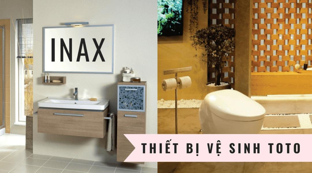Sự khác biệt của bồn cầu Inax và Toto