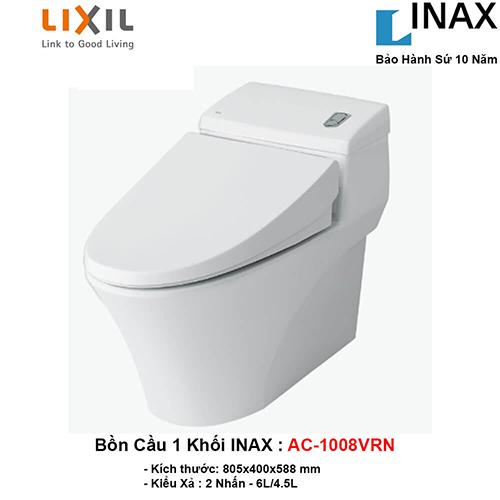 Một số lưu ý khi lắp đặt bồn cầu INAX 1008VRN