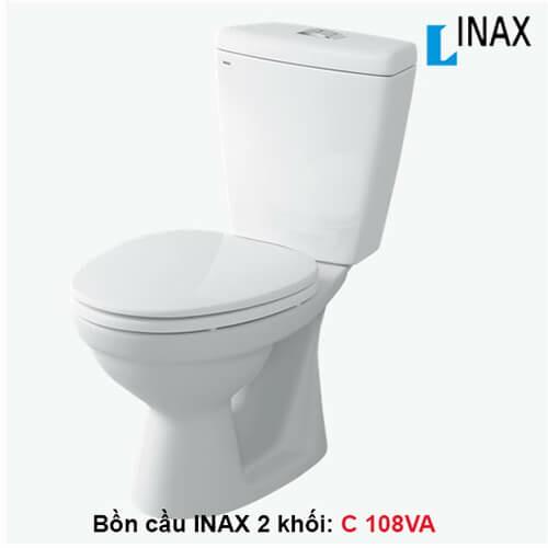 BỒN CẦU INAX 2 KHỐI C-108VA