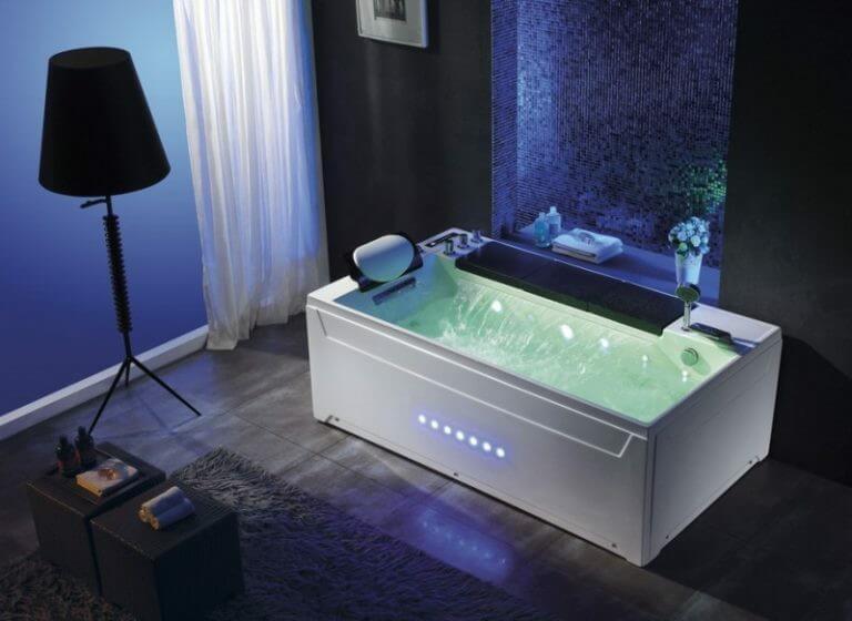Tác dụng khi dùng bồn tắm nằm massage