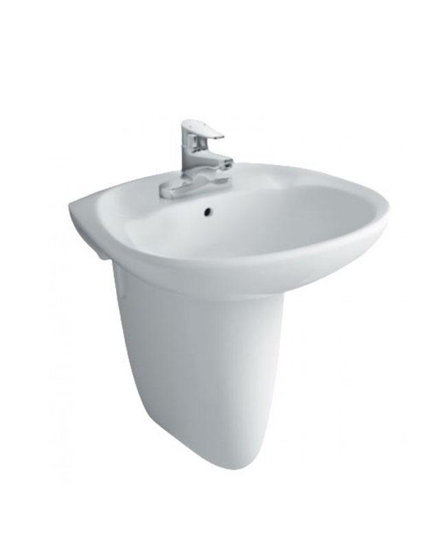 Chậu rửa mặt lavabo Inax L-284V & L-284VC