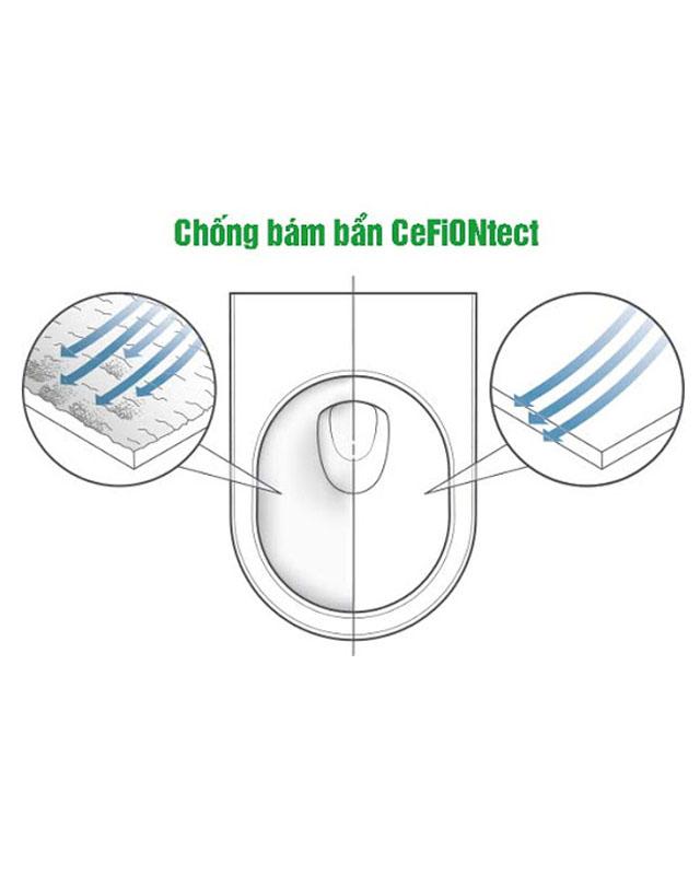 Tính năng nổi bật của bồn cầu TOTO 2 khối CS818DT2