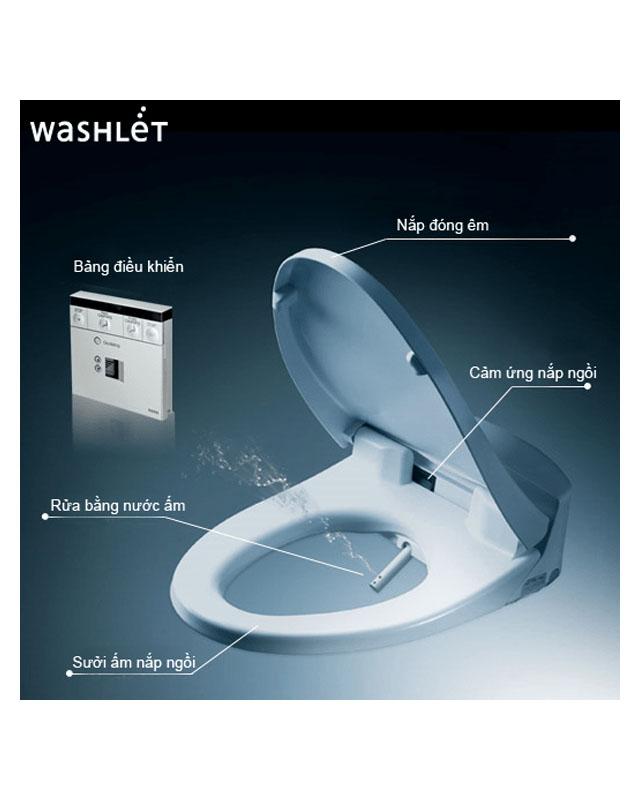 Tính năng nổi bật của nắp rửa điện tử WASHLET TOTO TCF4911Z