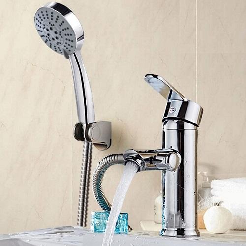 Vòi tắm liền vòi chậu lavabo Inax là gì