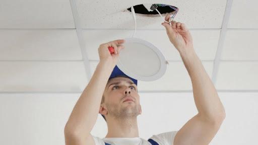 Bóng đèn led âm trần downlight dễ dàng lắp đặt & dễ thay thế