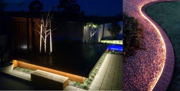 Bóng đèn rọi ray cho sân vườn