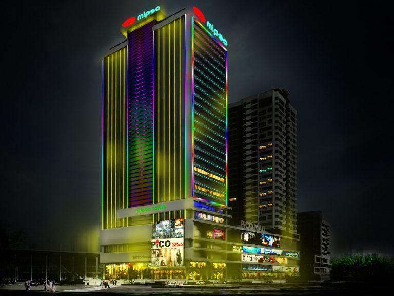 Chiếu sáng và trang trí tại những tòa nhà lớn