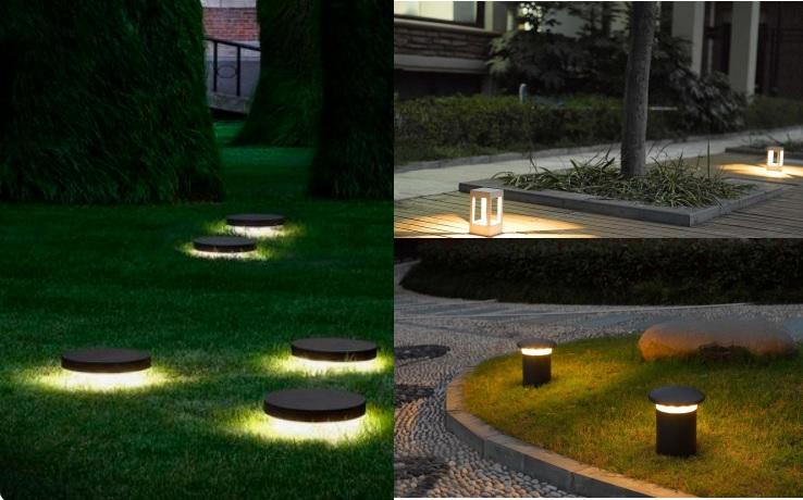 Bóng đèn trụ sân vườn tầm thấp