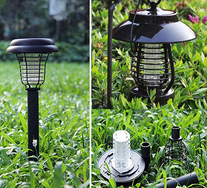 đèn LED bắt muỗi thông minh.