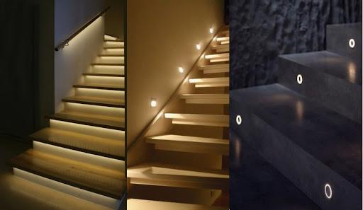 đèn phát quang cầu thang